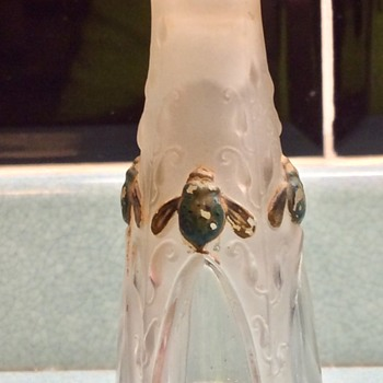 Art Nouveau perfume bottle, boot sale find. - Art Nouveau