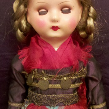 "This is what I call my ""Gypsy"" doll."