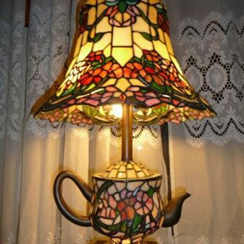 Tiffany Teapot lamp - Lamps