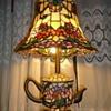 Tiffany Teapot lamp