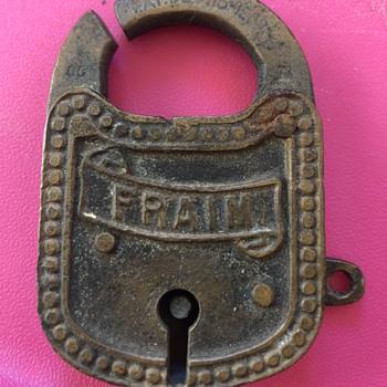 Old Fraim Lock  - Tools and Hardware