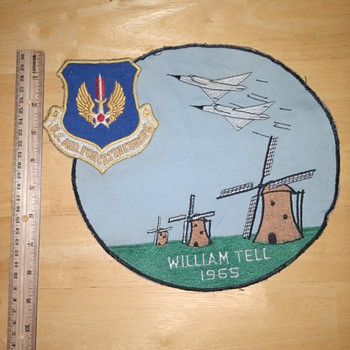 1965 William Tell USAFE 32nd FIS Patch - Military and Wartime