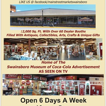 Swainsboro Museum of Coca-Cola Advertisement - Coca-Cola