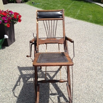 Traveling Barber's Chair - Furniture