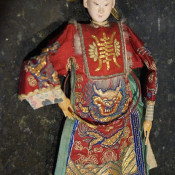 ANTIQUE VINTAGE ORIENTAL DOLL - JAPANESE ? - Dolls
