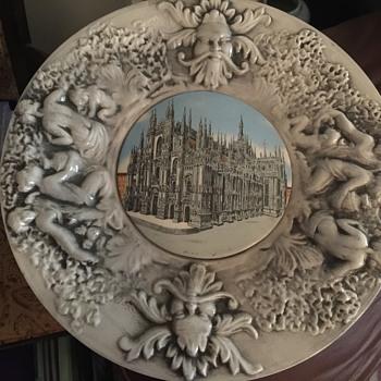 Capodimonte plate  - Pottery
