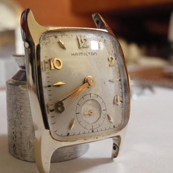 1951.5 Hamilton Cranston 10K - Wristwatches