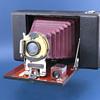 Ansco folding camera no.4 (?), 1907 (?)