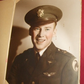 Pre/ Early WW2 aviator photograph - Military and Wartime