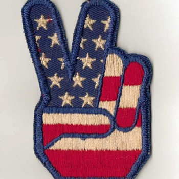 """Peace"" - Embroidered Patch - Medals Pins and Badges"