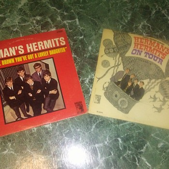 Two For Tuesday...Hermans Hermits...On 33 1/3 RPM Vinyl - Records