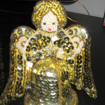 Vintage handmade Christmas Angel