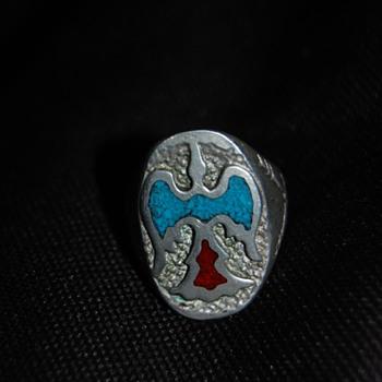 Native American Peyote Ring  - Native American