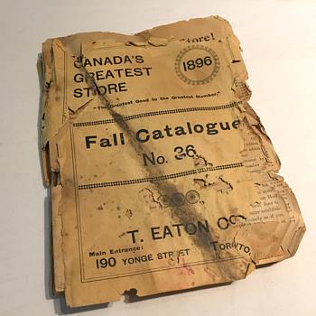 The T. EATON Co. Limited, Toronto Catalogue No. 36 circa. 1896 - Advertising