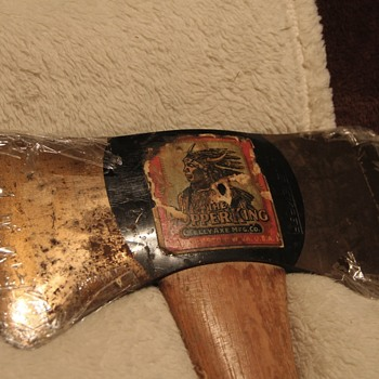 Copper King Axe with label item I own