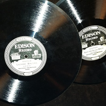 Edison heavy thick records - Records