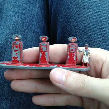 Lesney Toy Gas Pumps - Petroliana
