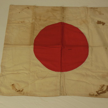 "Part 1 of my Japanese Hinomaru Yosegaki ""good luck flag"" collection - Military and Wartime"