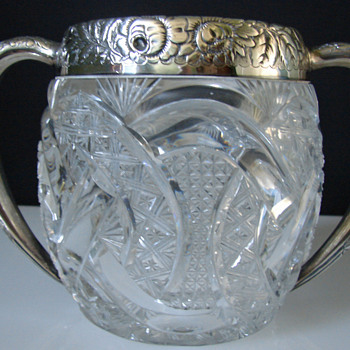 loving cup? rose bowl? - Glassware