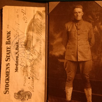 Possible Great Uncle, with Bank Note - Photographs