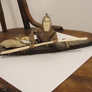 Inuit Hunter  - Native American
