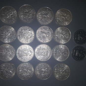 My dutch collectioni - World Coins