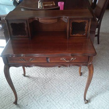 Queen Anne Writing Desk - Furniture