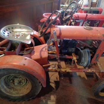 Cool old Panzer Garden Tractor - Tractors