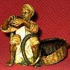 Antique Franz Bergman Cold Painted Bronze Snake Charmer