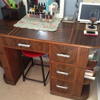 My vanity/desk