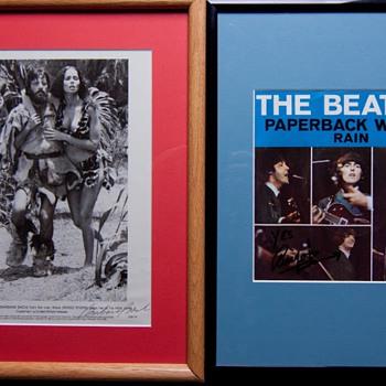 Ringo autographs-1981 & 1997
