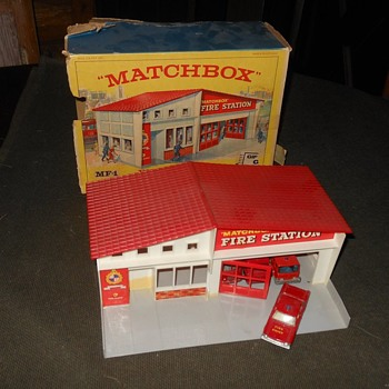 Matchbox Fire Station Mid 1960s  - Model Cars
