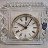 "Royal Daulton""Germany"" Crystal Table Clock, 20 Century"