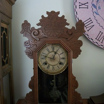 Old Waterbury clock