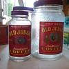 VINTAGE 1 LB AND 3LB COFFEE JARS