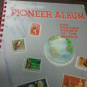 Pioneer Album (postage Stamp) book - Stamps