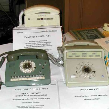 Western Electric Field Trial Sets Display - Enfield show Fall 2005 - Telephones