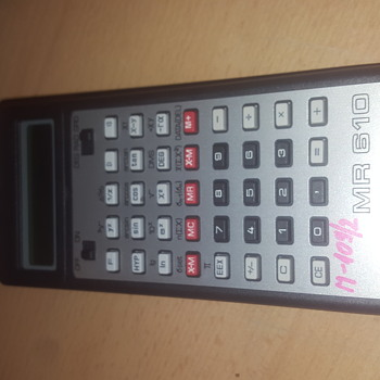 Old Tesla MR610 calculator
