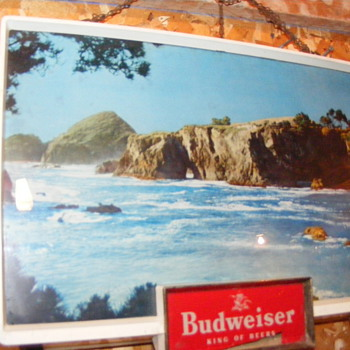 Vintage Budweiser Light