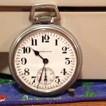 Hamilton US RR Grade Pocket Watch