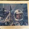 RARE VINTAGE BOEING X-20 DYNA-SOAR USAF ART PRINT / POSTER CONCEPTION