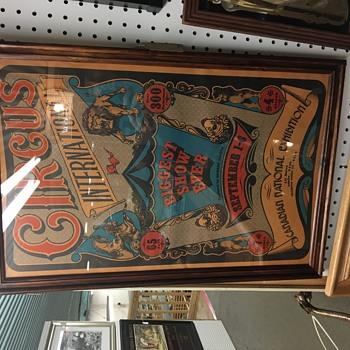 1971 cne circus poster
