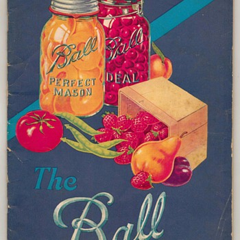 1930 - The Ball Blue Book - Bottles