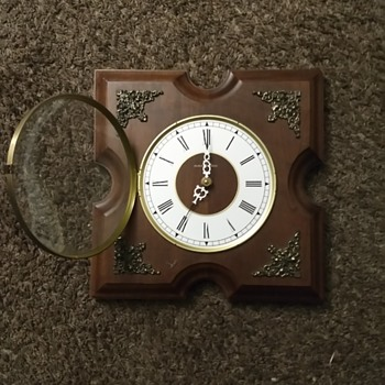 Vintage clock given to me years ago would love to know the history - Clocks