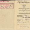 Paszport na Igrzyska Olimpijskie 1936