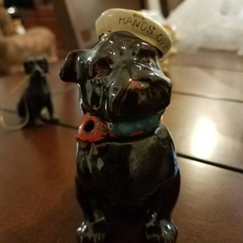 Vintage Sailor Bulldog Bank