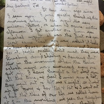 A letter about winston Churchill and the end of WW2  - Military and Wartime