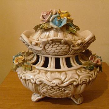 Capodimonte Porcelain Vase Collectors Weekly