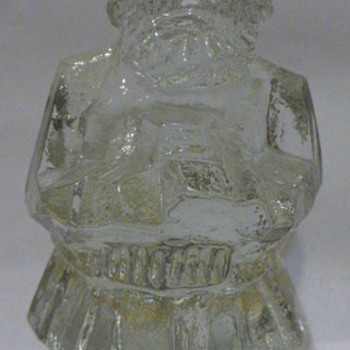 Pukeberg Glass viking paperweight - Art Glass