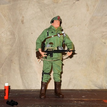 GI Joe Green Beret Number 5 Circa 1968 - Toys